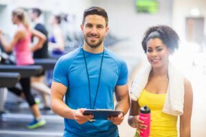 Fitness trainers at Psb Fitness